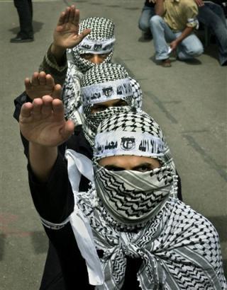 Palestinsk hitlerhälsning