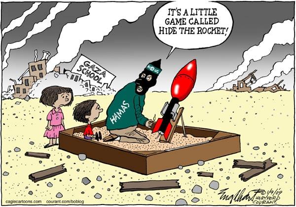 Gömma raketen
