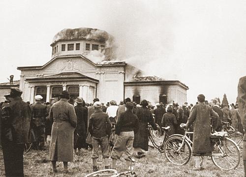 Synagogan i Graz år 1938